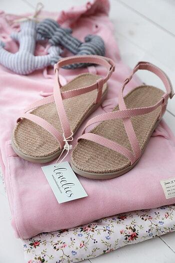 Lovelies - Sandaler No. 1 rosa