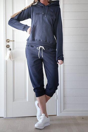 Handpicked - Mjukisset med korta ben marinblå