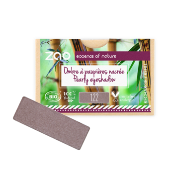 ZAO Refill Rectangle Eye Shadow 122 Desert Rose