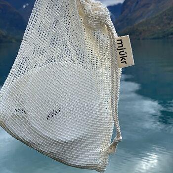 mjúkr NORWAY Bambuspads 10 stk. m/ vaskepose