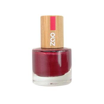 ZAO Nailpolish 674 Pearly Red