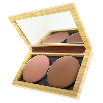 ZAO Refillable Magnetic Bamboo Palette