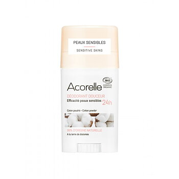 Acorelle Gentle Cotton Powder Deodorant 45g