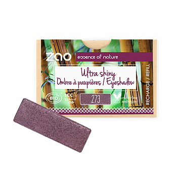 ZAO Refill Rectangle Eye Shadow 273 Purple Rain