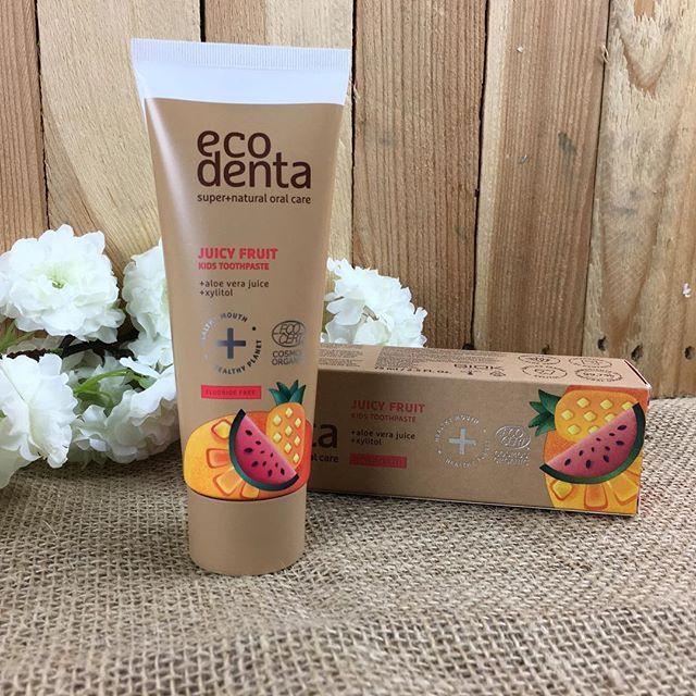 ECODENTA Organic Juicy Fruit Kids Toothpaste (uten fluor) - 2