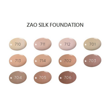 ZAO Refill Silk Foundation 710 Light Peach