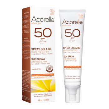 Acorelle Sun Spray SPF 50 – 100ml