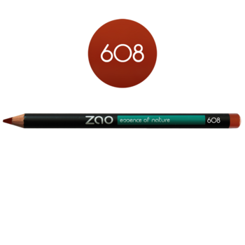ZAO Pencil Multipurpose Liner 608 Orange Brown