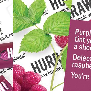 HURRAW! Raspberry Tinted Lip Balm
