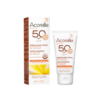 Acorelle Tinted Sun Face Cream spf 50 – 50ml