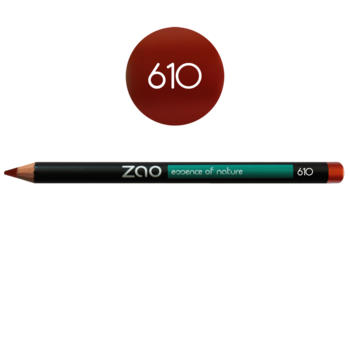 ZAO Pencil Multipurpose Liner 610 Red Copper