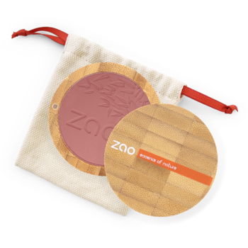 ZAO Compact Blush 322 Brown Pink