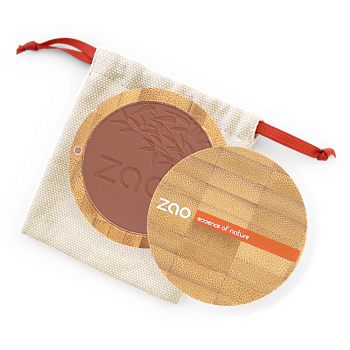 ZAO Compact Blush 321 Brown Orange