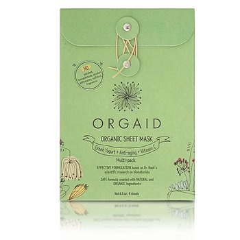 ORGAID Organic Sheet Mask Multi-pack (6 stk. / 2 av hver)