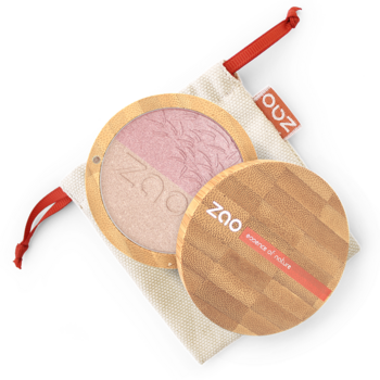 ZAO Shine-up Powder duo 311 Pink & gold