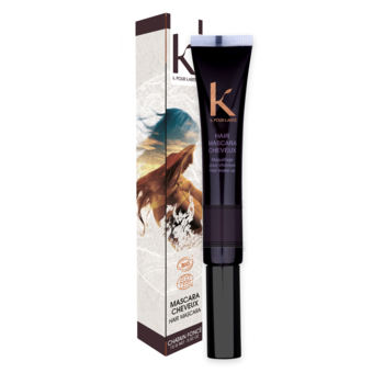 K pour Karité Hair Mascara Dark Brown 3