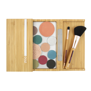 ZAO Refillable Magnetic Bamboo Palette Large