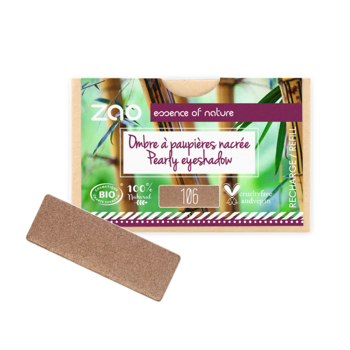 ZAO Refill Rectangle Eye Shadow 106 Bronze