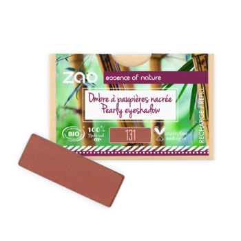 ZAO Refill Rectangle Eye Shadow 131 Sienna Earth