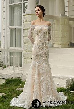 Hera White Bridal HW2008