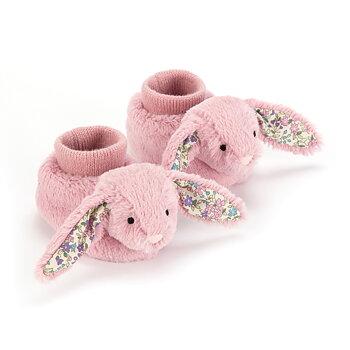 Babytofflor Blomster Kanin