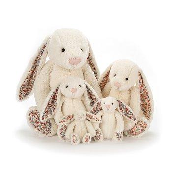 Gosedjur kanin Blomster Cream Kanin