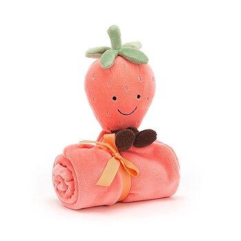 snuttefilt jordgubbe