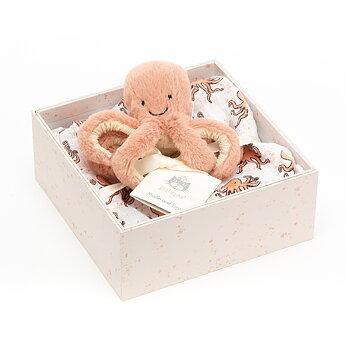 Gåvoset för baby söta  bläckfisken