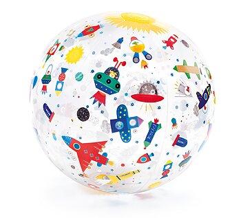 Badboll med rymdskepp
