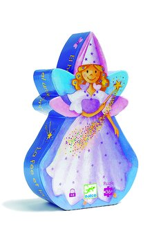 Pussel från Djeco Fairy och unicorn
