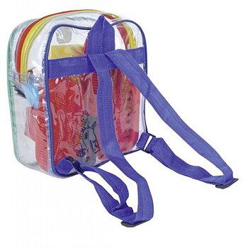 Ryktryggsäck, multifärgad, barn