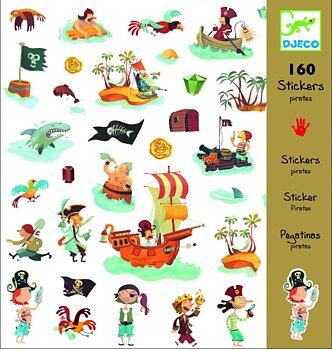 Klistermärken Pirates