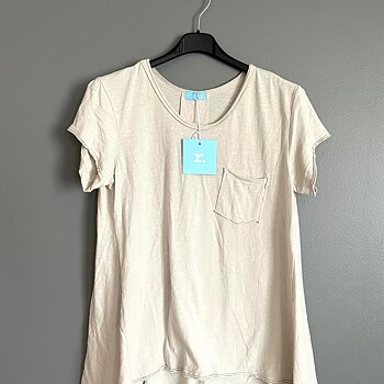 YOGA - kortärmad t-shirt....Be-you-tiful.... BEIGE