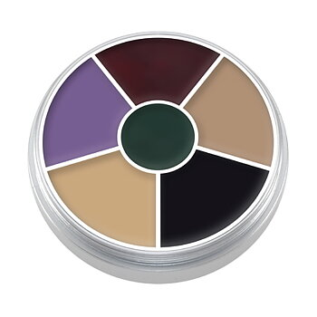 "Cream Color Circle ""Black Eye"" 30 gr - Kryolan"