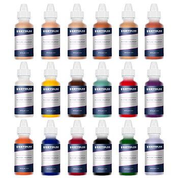 Silikon Pigment (Välj färg) - Kryolan 15 ml