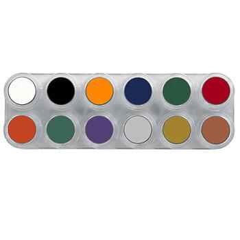 Grimas Crème color Teatersmink - Palett F