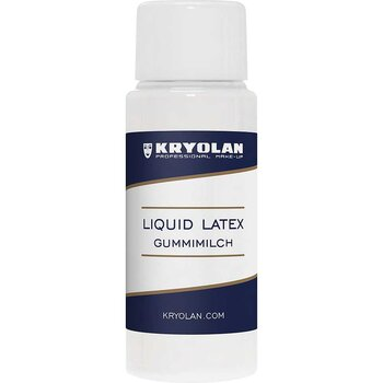 Liquid Latex Clear / Flytande Latex Ofärgad 30 ml - Kryolan