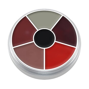 "Cream Color Circle ""Burn & Injury"" 30 gr - Kryolan"