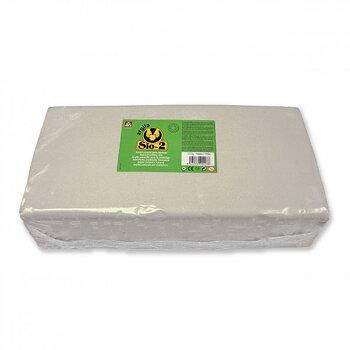 SIO-2 Keramiklera 12,5 kg Vit/Ljusgrå