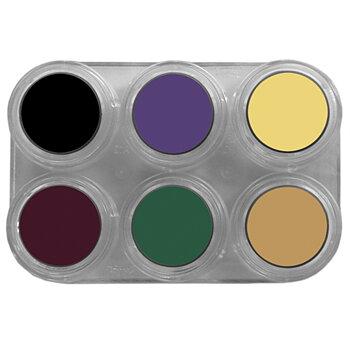 Grimas Crème color Teatersmink - Palett Bruise