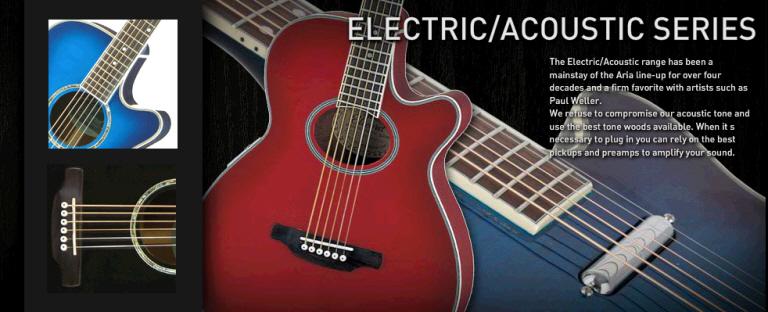 Elektroakustiska gitarrer