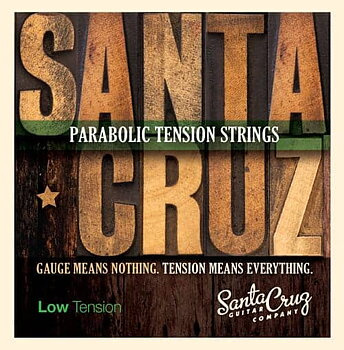 Santa Cruz Parabolic Tension Acoustic Strings (Low Tension)