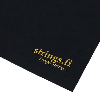 Strings Premium Suede Microfiber Guitar Polish Cloth