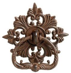 Dörrkläpp dörrknack Herrgård gjutjärn gammeldags shabby chic lantlig stil