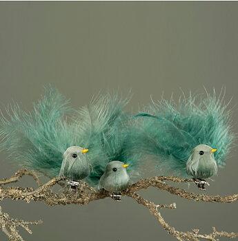 Flygande fågel på clip klämma shabby chic lantlig stil
