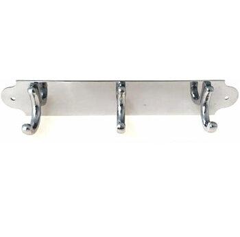 Krokhängare handukshängare 3-krok krom silver shabby chic lantlig stil