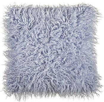 Kuddfodral päls ljusblå new England marin shabby chic lantlig stil