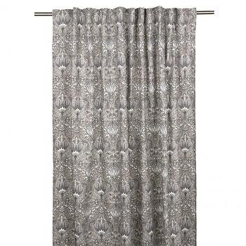 Gardinlängder grå Morris 2 st Art deco Jugend Art Noveau lantlig stil