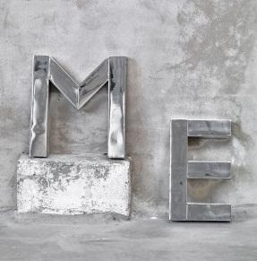 Silver zink plåt
