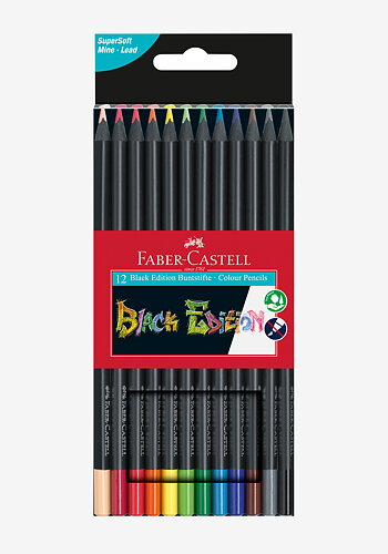 Colour pencils, Black edition